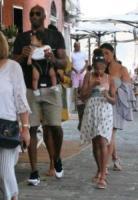 Gianna Maria-Onore Bryant, Bianka Bella Bryant, Vanessa Laine Bryant, Kobe Bryant - Portofino - 31-07-2017 - Kobe Bryant, vacanze italiane: a Portofino in versione papà