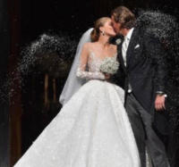 Victoria Swarovski - 02-08-2017 - Bianca Balti sposa in D&G: è suo l'abito più bello dell'anno?