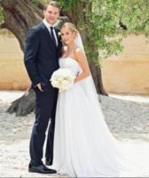Nina Weiss, Manuel Neuer - Monopoli (BA) - 10-06-2017 - Bianca Balti sposa in D&G: è suo l'abito più bello dell'anno?
