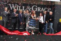 Eric McCormack, Sean Hayes, Megan Mullally, Debra Messing - Los Angeles - 02-08-2017 - Will & Grace: il revival riparte... con un bacio!