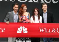Eric McCormack, Sean Hayes, Megan Mullally, Debra Messing - Los Angeles - 02-08-2017 - Will & Grace in lutto: morta la cameriera Rosario