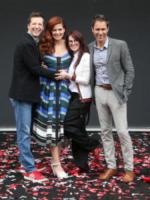 Eric McCormack, Sean Hayes, Megan Mullally, Debra Messing - Universal City - 02-08-2017 - Will & Grace: il revival riparte... con un bacio!
