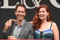 Eric McCormack, Debra Messing - Los Angeles - 02-08-2017 - Will & Grace: il revival riparte... con un bacio!