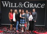 Eric McCormack, Sean Hayes, Megan Mullally, Debra Messing - Universal City - 02-08-2017 - Will & Grace in lutto: morta la cameriera Rosario