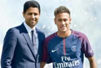 Neymar, Nasser Al Khelaifi - Parigi - 05-08-2017 - Neymar, manca il transfer del Barcellona: nessun esordio col Psg