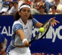 Josep Santacana, Arantxa Sanchez-Vicario - 23-04-2000 - La riconoscete? È stata la numero uno del tennis femminile