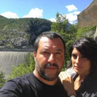 Matteo Salvini, Elisa Isoardi - Modena - 02-07-2017 - Barbara D'Urso provoca Matteo Salvini: