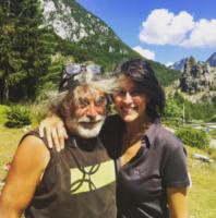 Mauro Corona, Elisa Isoardi - Modena - 02-07-2017 - Salvini-Isoardi: antipasto di luna di miele sul Lago di Garda