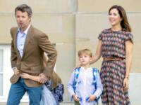 principe Vincent di Danimarca, Principe Frederick, Principessa Mary di Danimarca - Copenhagen - 15-08-2017 - Piccoli reali di Danimarca crescono: il primo giorno di scuola