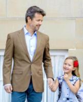 principessa Josephine di Danimarca, Principe Frederick - Copenhagen - 15-08-2017 - Piccoli reali di Danimarca crescono: il primo giorno di scuola