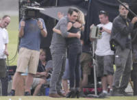Ty Burrell, Julie Bowen - Los Angeles - 14-08-2017 - Modern Family, Julie Bowen si fa in quattro per il golf