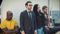 Mike Colter, Finn Jones, Krysten Ritter, Charlie Cox - Los Angeles - The Defenders: l'intervista ai quattro supereroi