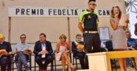 Camilla - Camogli - Camilla, angelo di Amatrice, vince il Premio Fedeltà del Cane
