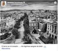 Vanessa Incontrada - Barcellona - 17-08-2017 - Attentato a Barcellona, il cordoglio delle star sui social