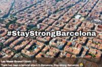 Attentato a Barcellona, il cordoglio delle star sui social