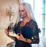 Penelope Cruz - Los Angeles - Penelope Cruz vestita a lutto nei panni di Donatella Versace