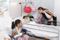Letizia Ortiz - Barcellona - 19-08-2017 - Barcellona, i reali in visita ai feriti dell'attentato: le foto