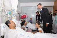 Re Felipe di Borbone - Barcellona - 19-08-2017 - Barcellona, i reali in visita ai feriti dell'attentato: le foto