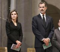 Felipe VI of Spain, Letizia Ortiz - Barcellona - 20-08-2017 - Barcellona, i reali in visita ai feriti dell'attentato: le foto