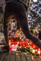 Rambla Barcellona - Barcellona - 19-08-2017 - Barcellona: centinaia di persone rendono omaggio alle vittime