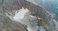 ghiacciaio della Marmolada - Marmolada - 05-08-2017 - Il ghiacciaio della Marmolada è per la prima volta senza neve