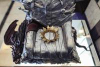 Iron Throne cake - Zagabria - 11-08-2017 - Iron Throne cake, ecco la torta al gusto... Trono di Spade!