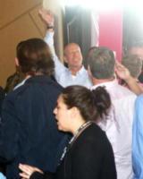 Bruce Willis - Las Vegas - 27-08-2017 - Bruce Willis non si perde il match del secolo
