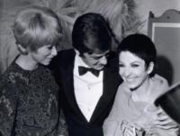 ZIZI JEANMAIRE, Mireille Darc, Alain Delon - Parigi - 14-11-1968 - Addio a Mireille Darc: morta l'ex compagna di Alain Delon
