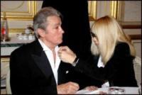 Mireille Darc, Alain Delon - Parigi - 03-12-2008 - Addio a Mireille Darc: morta l'ex compagna di Alain Delon