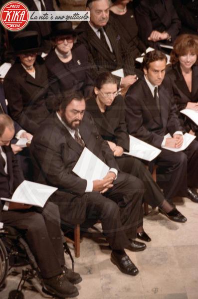 Luciano Pavarotti - Londra - 06-09-1997 - 20 anni fa moriva Lady Diana, la principessa di cuori