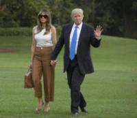 Melania Trump, Donald Trump - Washington - 11-06-2017 - Melania Trump, uragano (di proteste) per il tacco 12