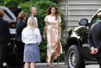 Melania Trump - Washington - 04-06-2017 - Melania Trump, uragano (di proteste) per il tacco 12