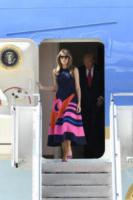 Melania Trump - Amburgo - 06-07-2017 - Melania Trump, uragano (di proteste) per il tacco 12