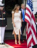 Melania Trump, Donald Trump - Washington - 29-06-2017 - Melania Trump, uragano (di proteste) per il tacco 12