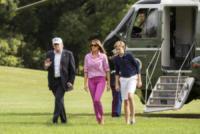 Melania Trump, Donald Trump - Washington - 27-08-2017 - Melania Trump, uragano (di proteste) per il tacco 12