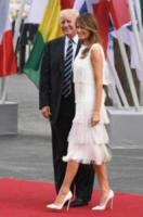 Melania Trump, Donald Trump - Amburgo - 07-07-2017 - Melania Trump, uragano (di proteste) per il tacco 12