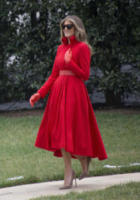 Melania Trump - Washington - 17-03-2017 - Melania Trump, uragano (di proteste) per il tacco 12