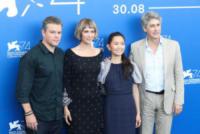 Hong C, Kristen Wiig, Matt Damon - Venice - 30-08-2017 - Venezia 74: la prima giornata della kermesse