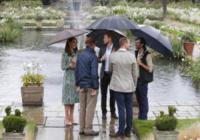 Principe William, Kate Middleton, Principe Harry - Londra - 30-08-2017 - Lady Diana, William, Kate ed Harry al memoriale