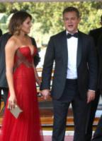 Luciana Barroso, Matt Damon - Venezia - 30-08-2017 - Venezia 74: la prima giornata della kermesse