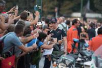 Daniil KVYAT - Milano - 31-08-2017 - I piloti di F1 si sono messi alla guida... delle auto d'epoca