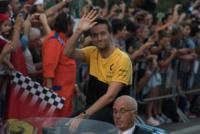 Jolyon Palmer - Milano - 31-08-2017 - I piloti di F1 si sono messi alla guida... delle auto d'epoca