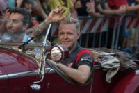 Kevin Magnussen - Milano - 31-08-2017 - I piloti di F1 si sono messi alla guida... delle auto d'epoca