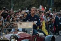 Marcus Ericsson - Milano - 31-08-2017 - I piloti di F1 si sono messi alla guida... delle auto d'epoca