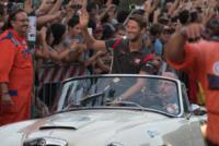 Romain Grosjean - Milano - 31-08-2017 - I piloti di F1 si sono messi alla guida... delle auto d'epoca