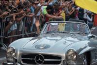 Valtteri Bottas - Milano - 31-08-2017 - I piloti di F1 si sono messi alla guida... delle auto d'epoca