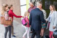 Re Filippo del Belgio, Principe Gabriele del Belgio, Principessa Eleonora del Belgio, Principessa Elisabetta del Belgio - 01-09-2017 -