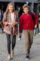 Principe Gabriele del Belgio, Principessa Elisabetta del Belgio - 01-09-2017 -