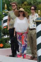 Miles Robbins, Jack Henry Robbins, Susan Sarandon - Venezia - 02-09-2017 - Venezia 74, Susan Sarandon arriva con i figli in Laguna
