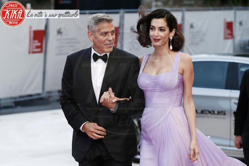 Amal Alamuddin, George Clooney - Venezia - 02-09-2017 - Venezia 74, Clooney-Amal, la coppia perfetta del festival